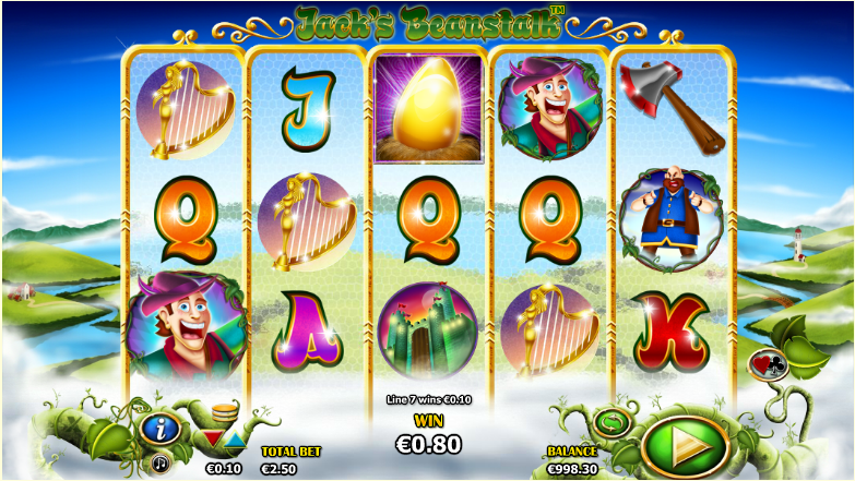 Jacks Beanstalk Slot - Play the Free Nextgen Game Now