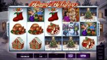 happy holidays slot screenshot
