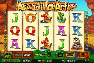 Armadillo Artie Slot Machine - Free Amaya Gaming Casino Game