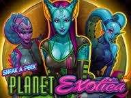 Planet exotica slot logo