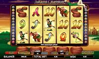 The Snake Charmer Slot Screen