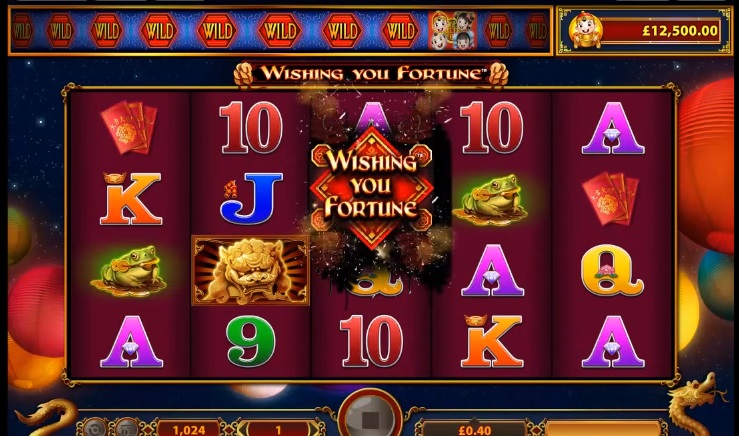Wishing You Fortune Slot Machine - WMS Gaming Slots