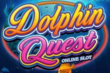 dolphin-quest-slot-logo