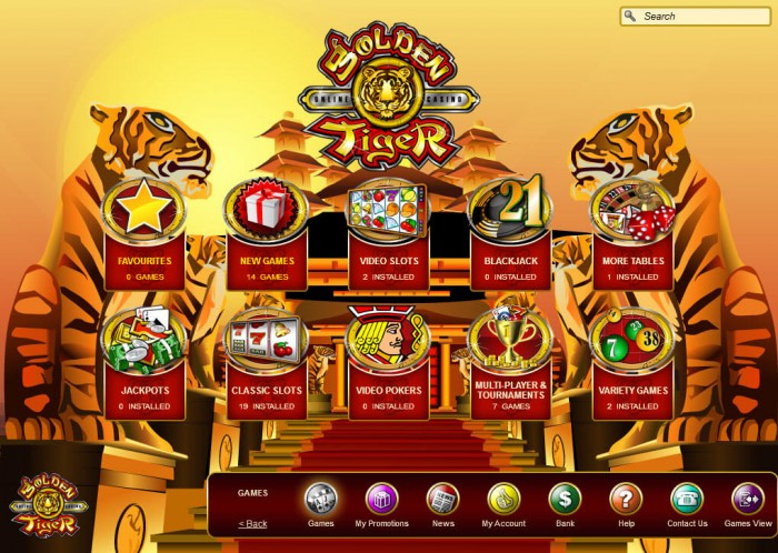 golden tiger casino online review