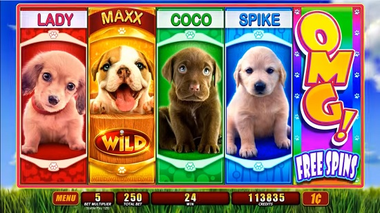 OMG! Puppies Slots - Play Online for Free Instantly