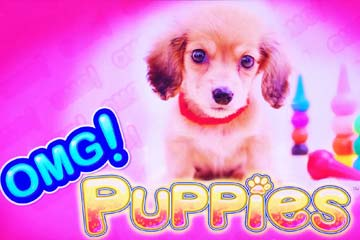 omg-puppies-slot-logo