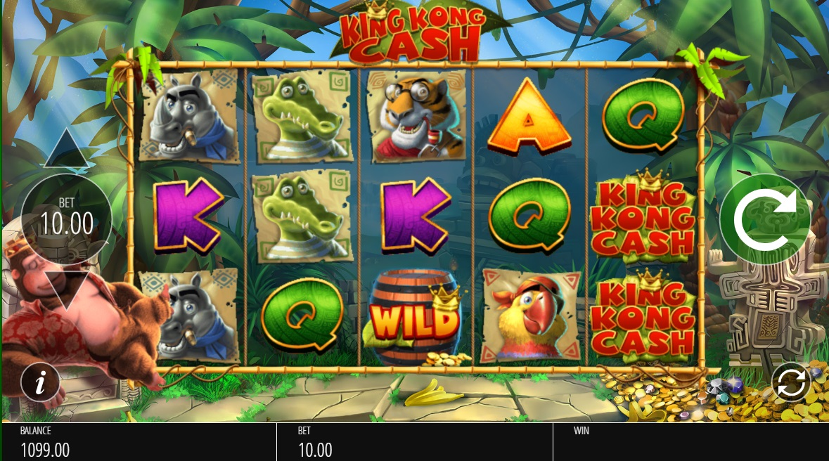 King kong cash slot machine online
