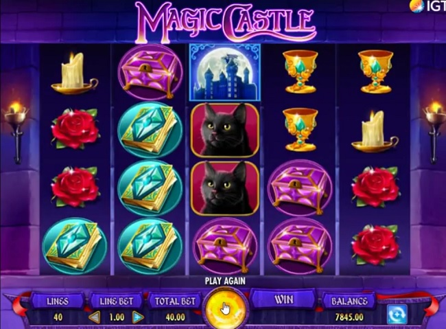 magic castle slot screenshot big