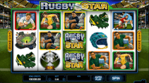 rugby star slot screenshot