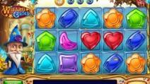wizard of gems slot screen