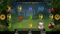 clash of queens slot screen
